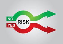 13437422-graphiques-en-couleur-abstrait-sur-la-gestion-des-risques[1]